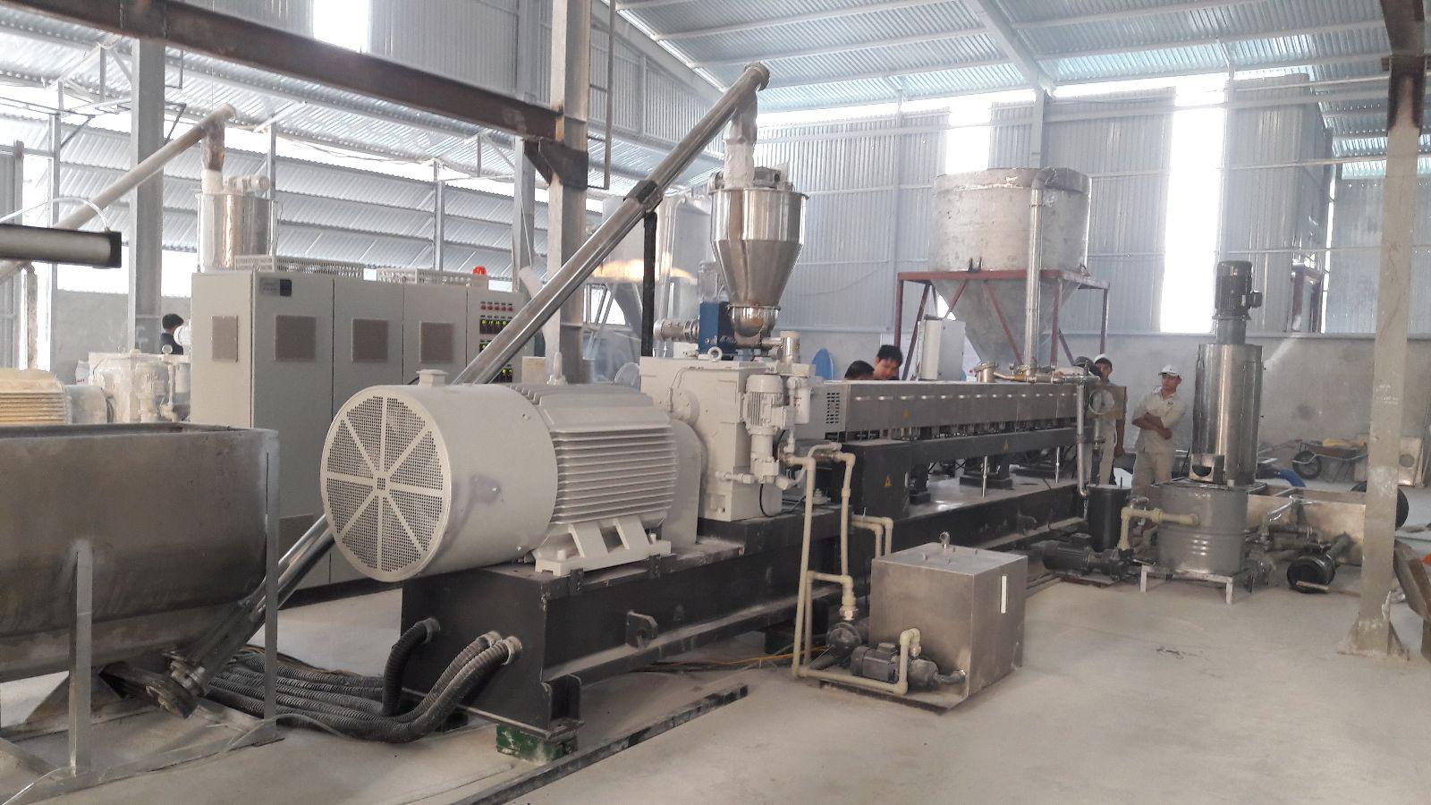 Calcium carbonate factory